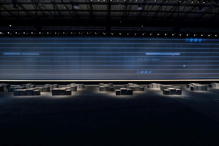 Выставочная инсталляция от Migliore + Servetto Architects: сидения в зрительном зале
