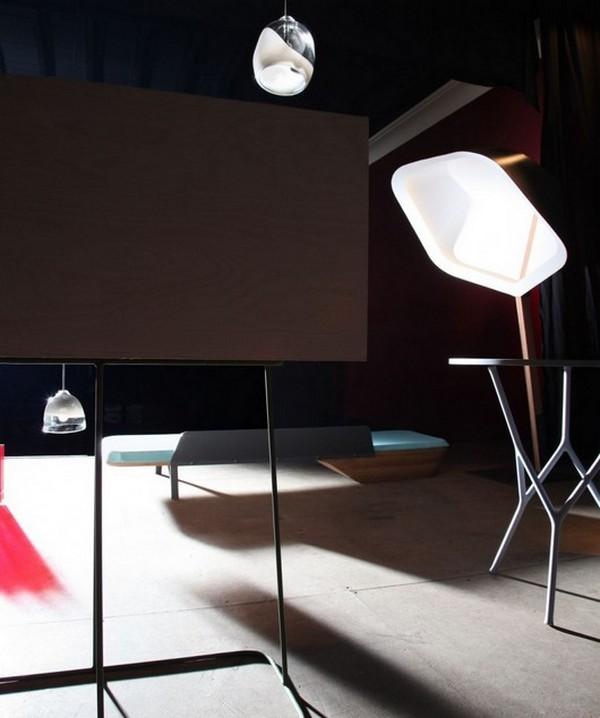 Восхитительная композиция Quatrieme Mur от Франсуа Bauchet и Эрик Иордан