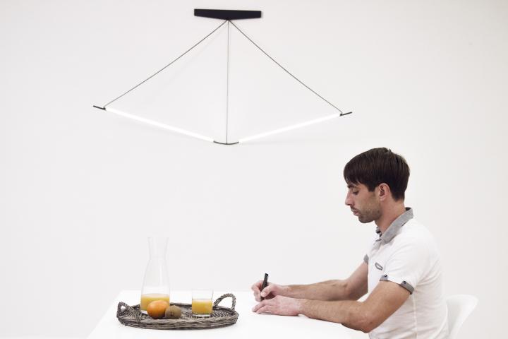 Простая конструкция лампы