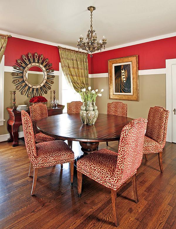 Чудесный дизайн интерьера столовой