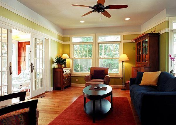 Прекрасный дизайн интерьера гостиной