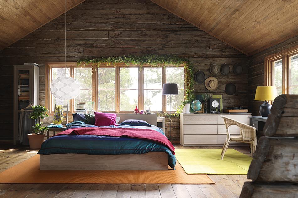 Идеи для интерьера деревянного дома фото