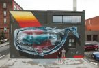 Фестиваль уличного искусства WALLTHERAPY, 2015: сюрреалистическая трансформация городской среды