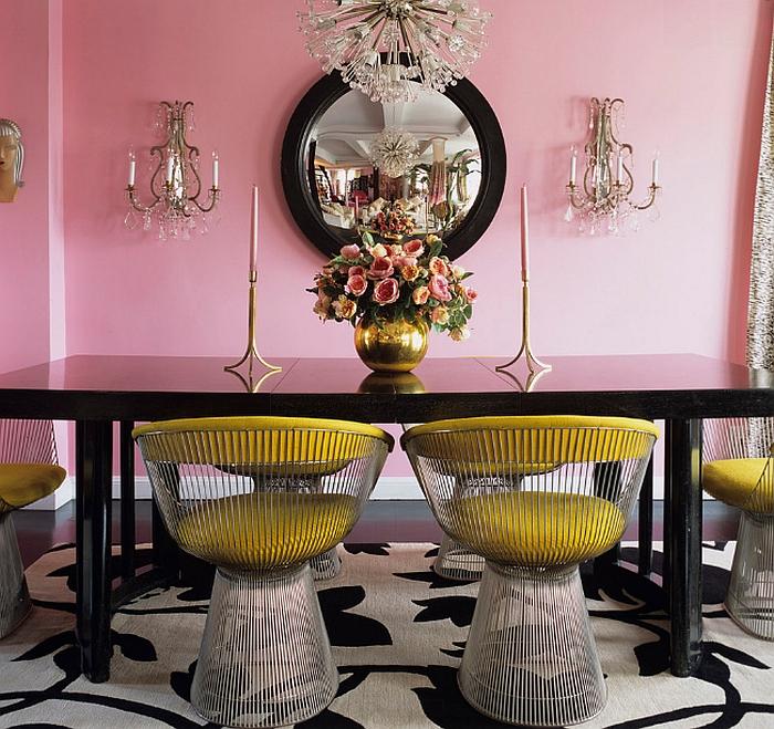 Стол и кресло от Уоррена Платтера в дизайне интерьера