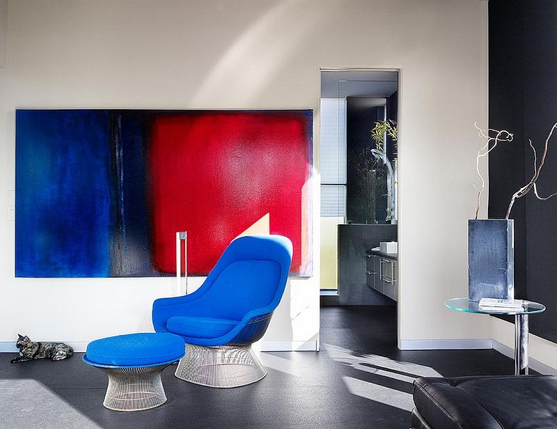 Кресло и стол от Уоррена Платтера в дизайне интерьера