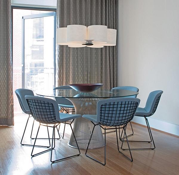 Стол и стулья от Уоррена Платтера в дизайне интерьера