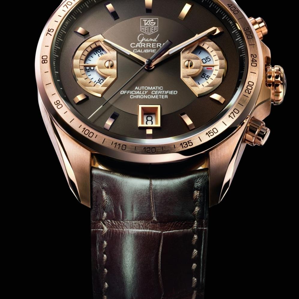 Мужские часы марки Tag Heuer