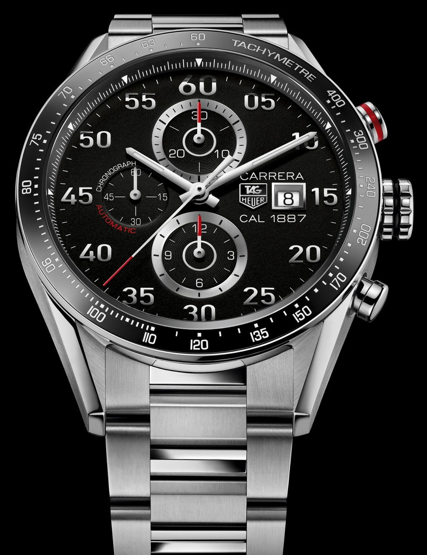 Металлические часы Tag Heuer из коллекции Grand Carrera