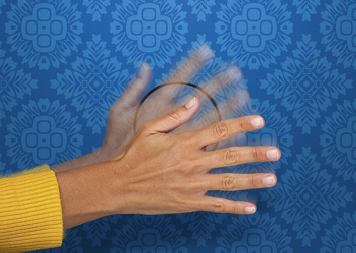 Сенсорное прикосновение для выключения света
