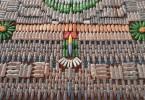 Инсталляция-ковёр из коллекции «We Make Carpets»