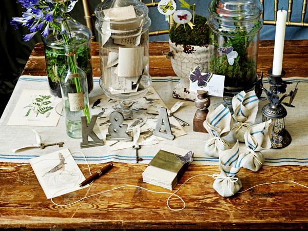 Бесподобная сервировка свадебного стола