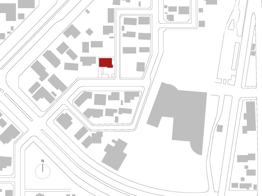 План дома White Colony в минималистском стиле
