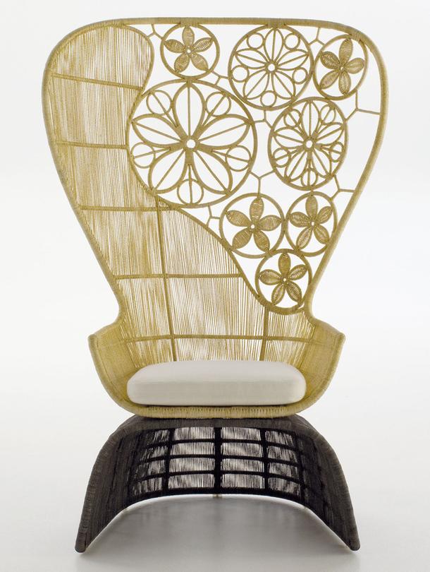 Ажурное кресло Crinoline
