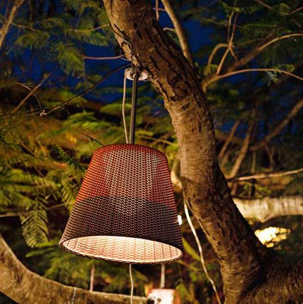 Уникальный торшер Wicker Light от Филиппа Старка