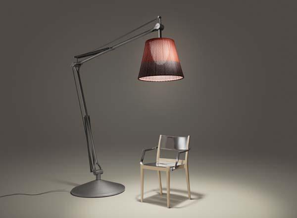 Креативный торшер Wicker Light от Филиппа Старка