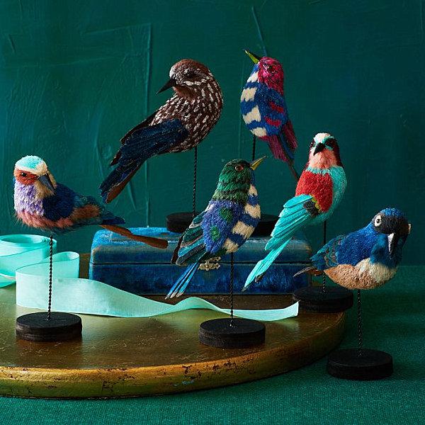 Декоративные птицы в интерьере