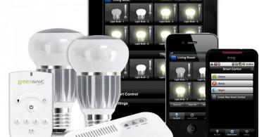 правление освещением с помощью мобильного приложения для iPhone