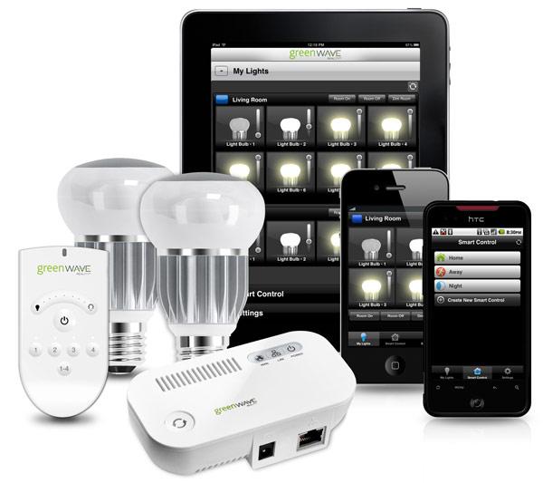 Гаджеты с приложением для управления светом