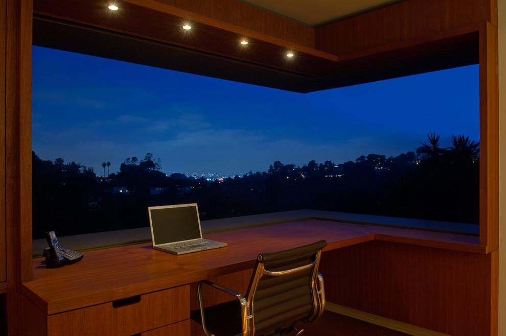 Панорамные окна в кабинете