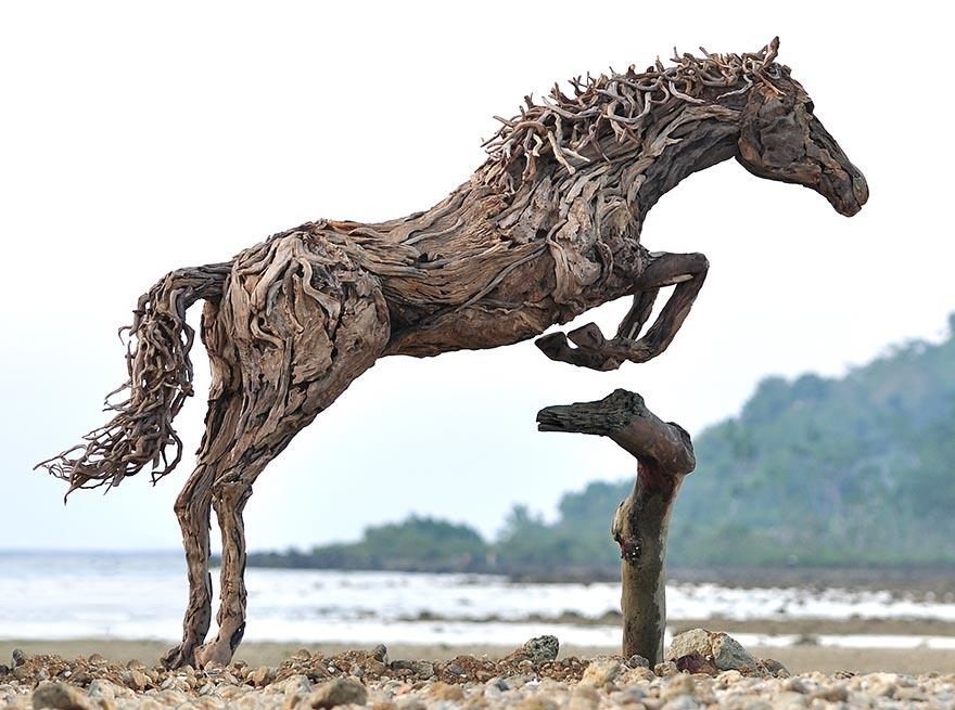 Превосходные конные скульптуры британского скульптора Джеймса Доран-Уэбба