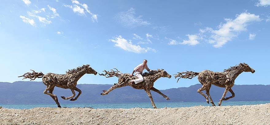 Бесподобные конные скульптуры британского скульптора Джеймса Доран-Уэбба