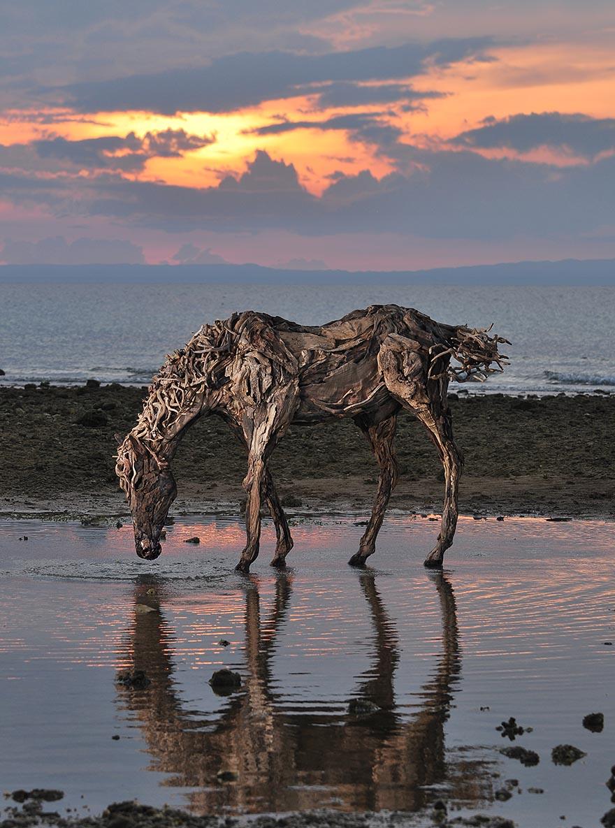 Замечательные конные скульптуры британского скульптора Джеймса Доран-Уэбба