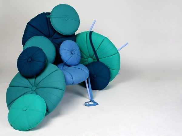 Мебельная система цвета моря