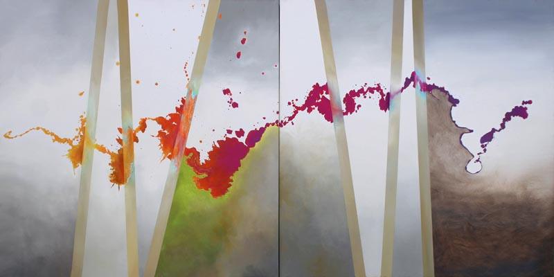 Полотно с рисунком The Vine от художника Mark G Picascio