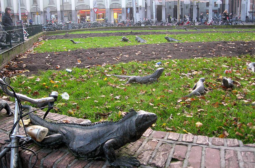 Скульптурная композиция в Нидерландах