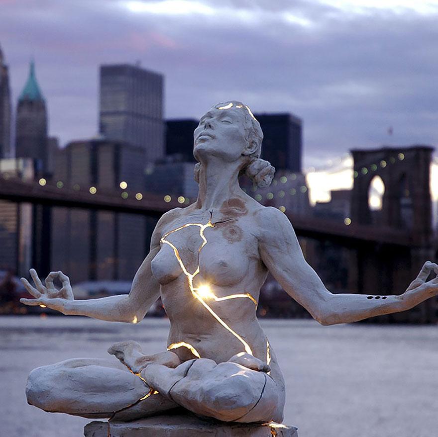 Скульптурная композиция в США
