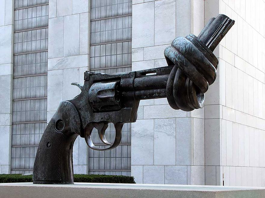 Скульптурная композиция в Нью-Йорке