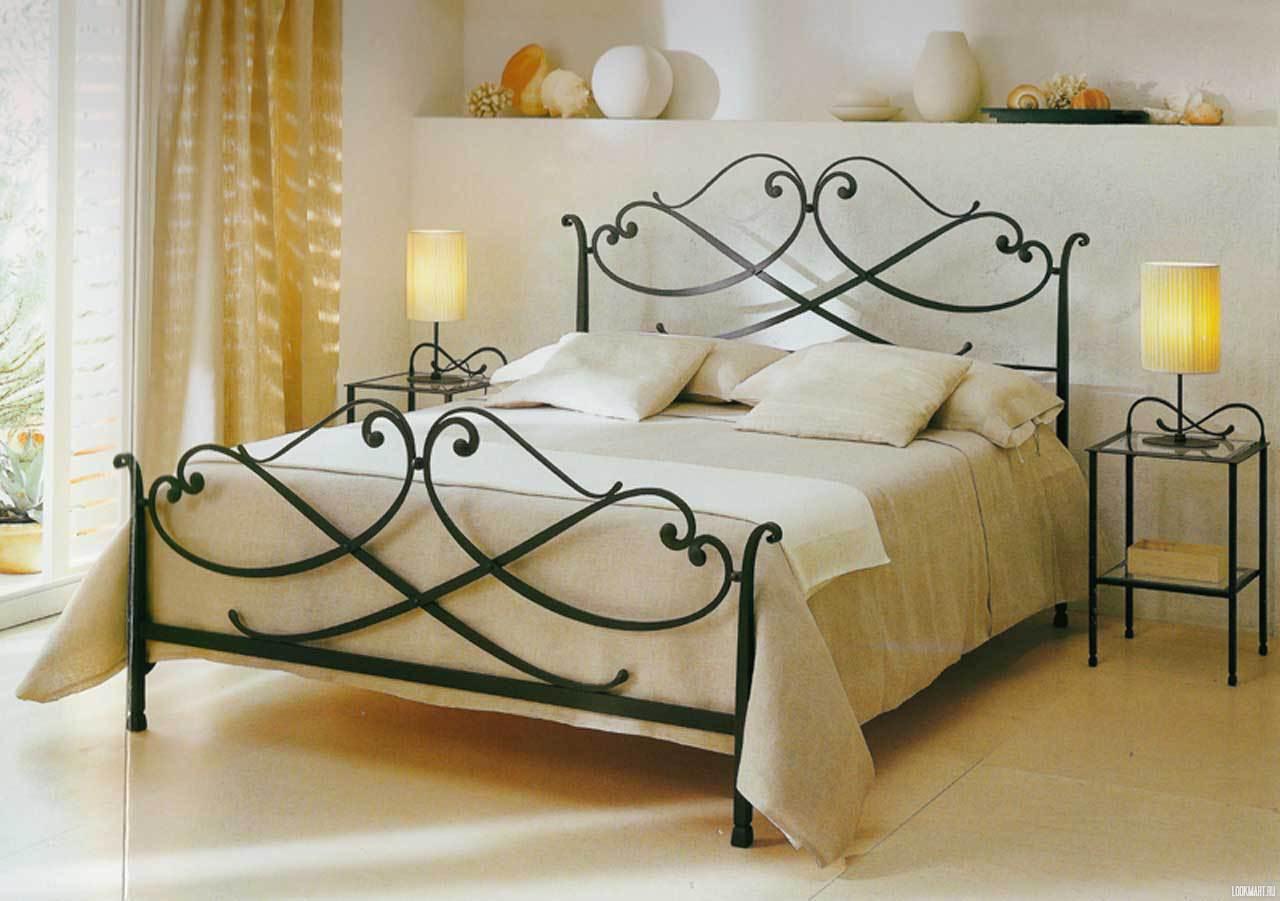 Кованая кровать фото своими руками