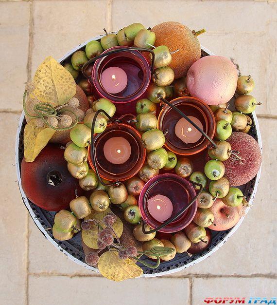 Яблочные идеи для праздника - Фото 7