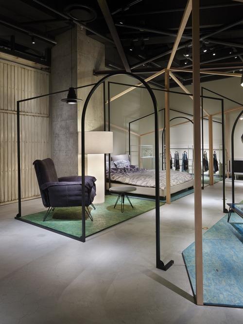Мебель от Chikara Ohno и Simon Williams на выставке в Японии