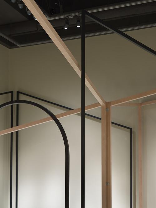 Детали павильона на выставке в Японии