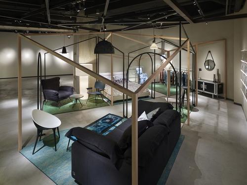 Красивая мебель от Chikara Ohno и Simon Williams на выставке в Японии