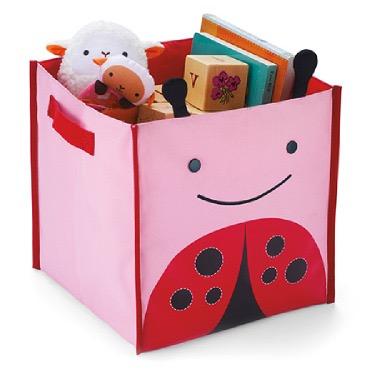 Яркий декор детской: коробка для игрушек