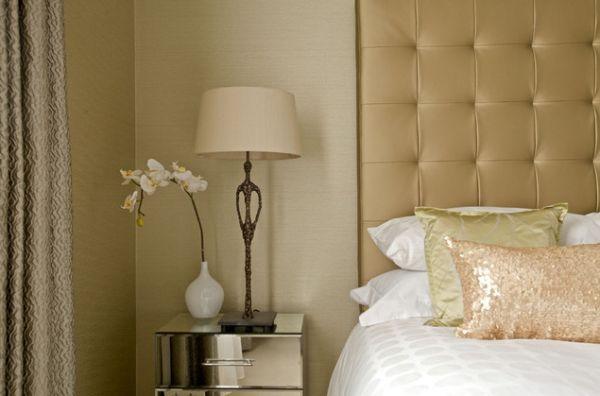 Чудесное светлое оформление спальной зоны