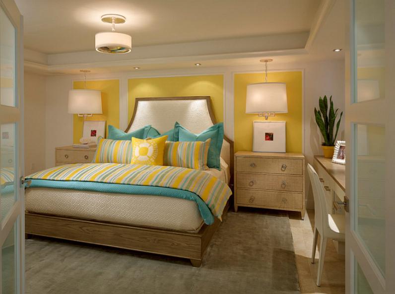 Теплый цвет комнаты