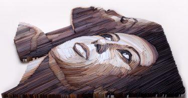 Юлия Бродская: реалистичные бумажные портреты в трёхмерном формате