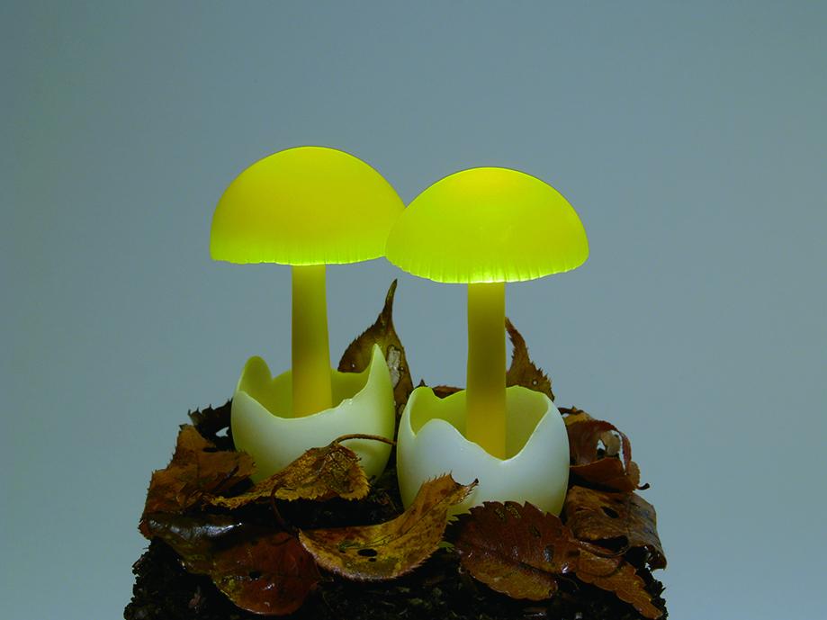 Юкио Такано: оригинальные светильники из эпоксидной смолы