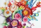 Юлия Бродская: бумажные 3D-коллажи ручной работы