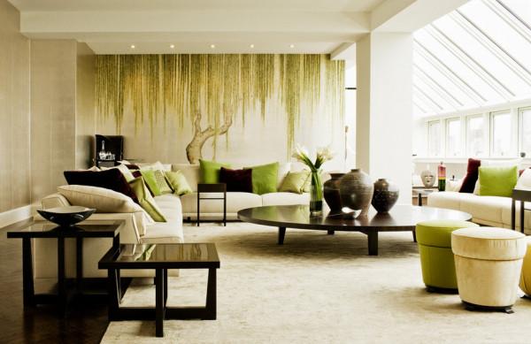 Стильный дизайн интерьера комнаты