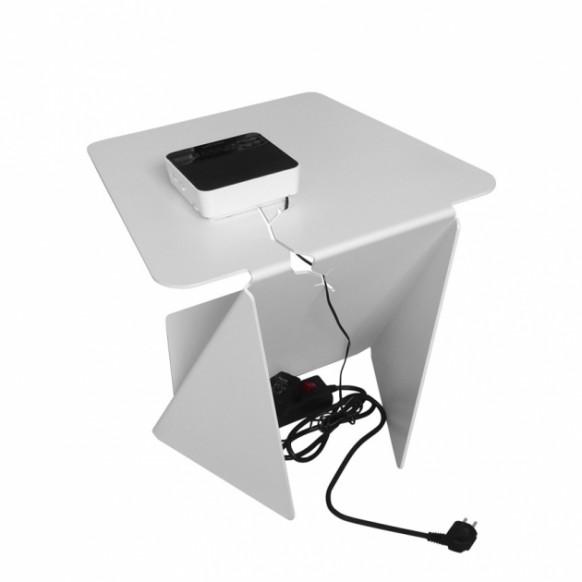 Офисный стол - вид сзади