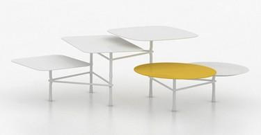 Журнальный столик Tiers tables от Patricia Urquiola