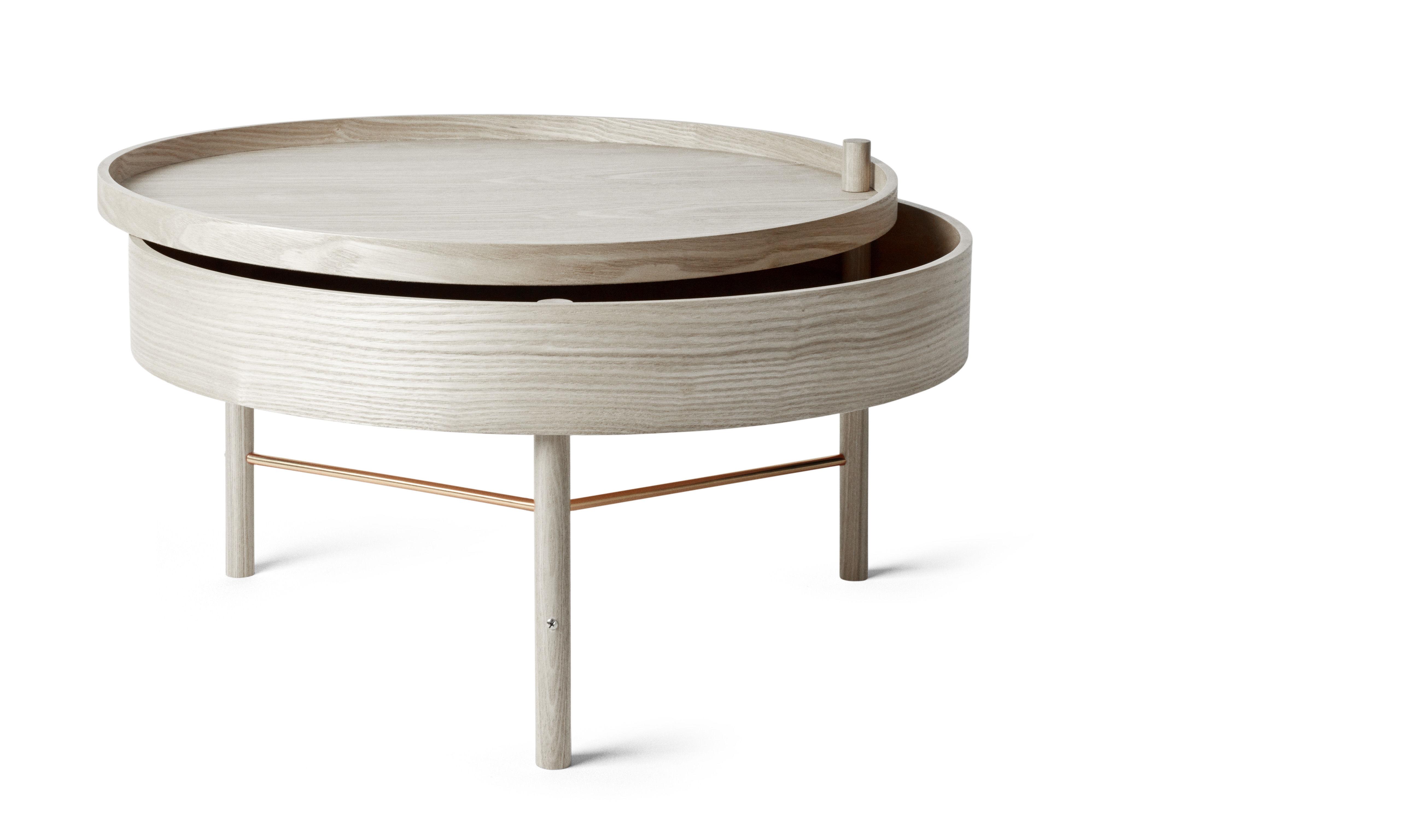 Необычный журнальный столик с современным дизайном, фото столика Turning Table