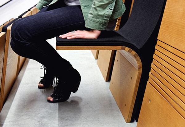 Как сделать аудиторию ухоженной: изящные откидные сиденья Jumpseat от компании Ziba, Портленд