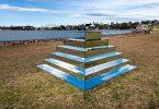 Зеркальный зиккурат от Ширин Абединирад на фестивале экспериментального искусства в Сиднее